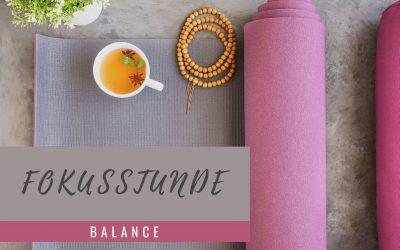 Yoga-Fokusstunde: Balance – KW 21/2020