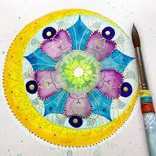 Entspannung durch Malen – Meditatives Malen